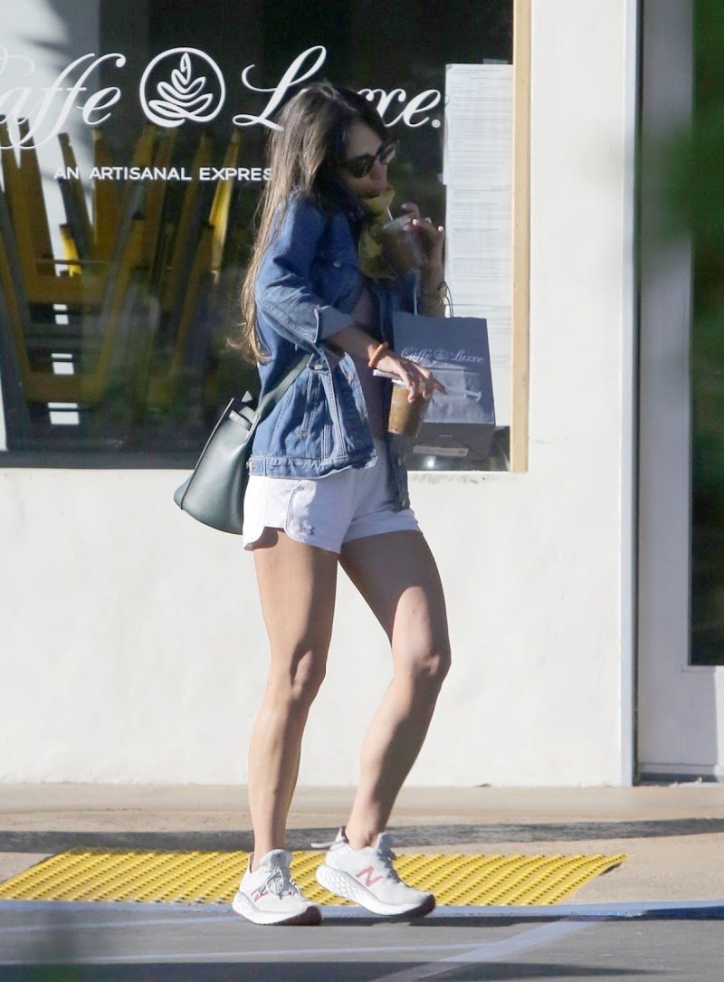 Jordana Brewster Clicked in Shorts Out in Los Angeles 13 Jun -2020