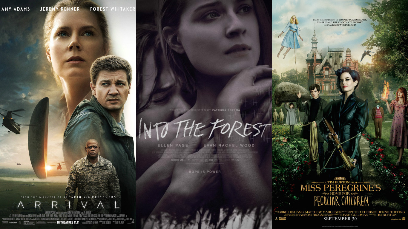 Film Reviewer Jr Micro Reviews 2 Arrival Into The Forest