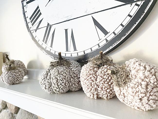 clock and sherpa pumpkins