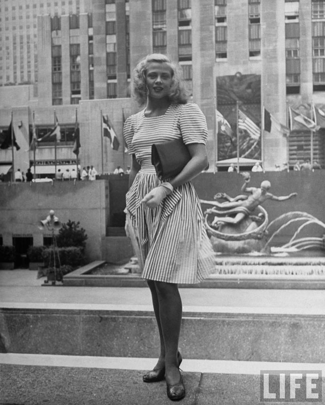 Amazing New York Street Style From the 1940s ~ vintage