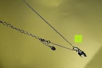 Verschluss: Neoglory Jewellery Silber mit Swarovski Elements Halskette Armkette Ohrringe Tropfen blau