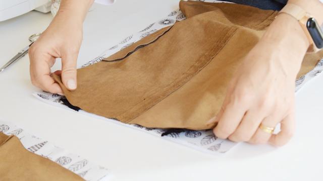 reutilizar la tela de un vestido