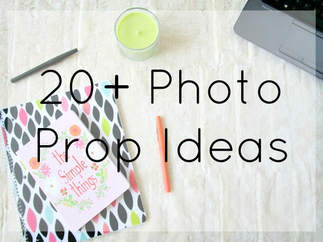 20 Photo Prop Ideas from Courtney's Little Things