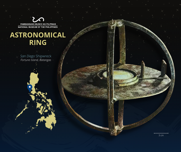 Astronomical Ring Artifact From the San Diego Shipwreck [Maritime Archeology]