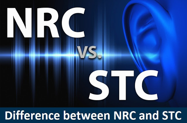 Noise Reduction Coefficient and (STC) Sound Transmission Class