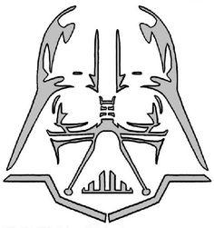 photograph regarding Star Wars Stencils Printable called Star wars pumpkin stencils carving practice define free of charge