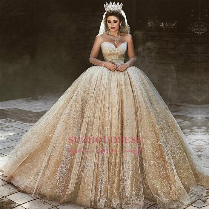 https://www.suzhoudress.com/i/champagne-gold-shiny-sequins-princess-ball-gown-royal-wedding-dress-23044.html