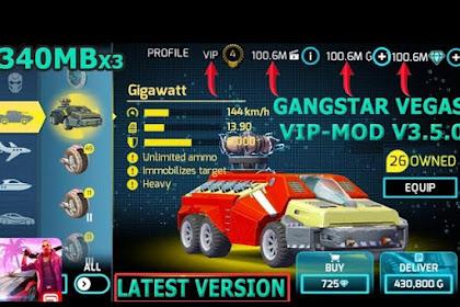Gangstar Vegas Mod 4.5.0i Apk VIP + Data Unlimited Money