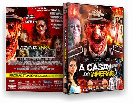A CASA DO INFERNO 2019 DVD-R