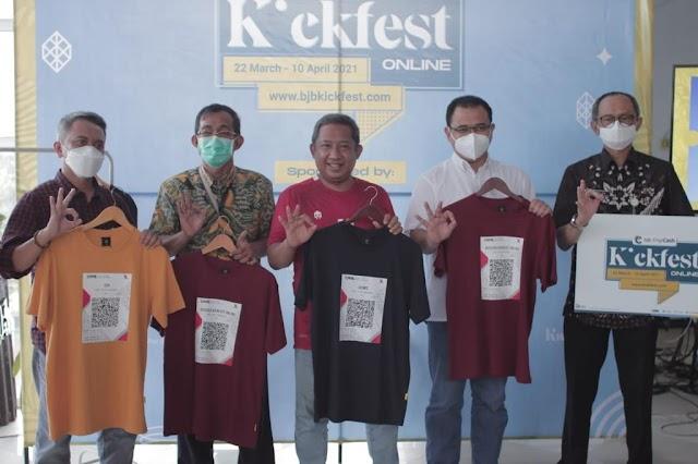 Dukung Pelaku UMKM Lokal, Bank bjb Gelar event bjb DigiCash KickFest