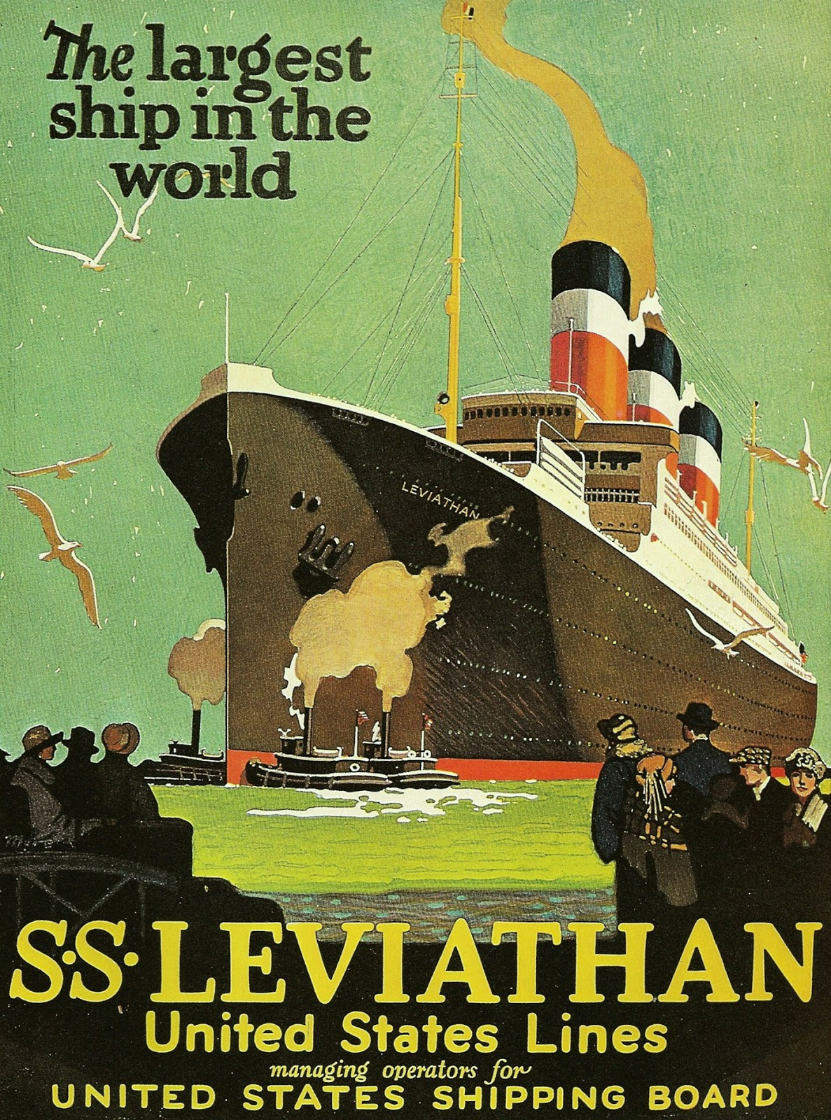 Cruises From Southampton >> ART & ARTISTS: Maritime Posters - part 5