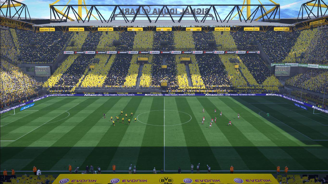 ultigamerz: PES 2017 Fix Signal Iduna Park For Stadium Pack