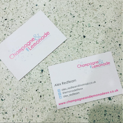 Blogger business cards from Aura Print