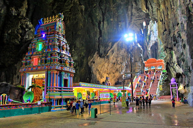 shrines inside temple cave