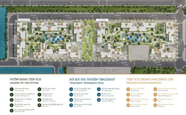 Mặt bằng dự án Masterise Centre Point quận 9