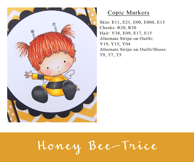 Heather's Hobbie Haven - Honey Bee-Trice Card Kit