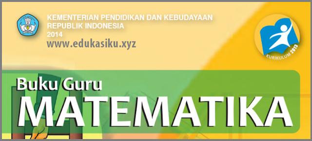 Download Buku Guru Tematik Matematika Kelas 8 SMP-MTs  Kurikulum 2013