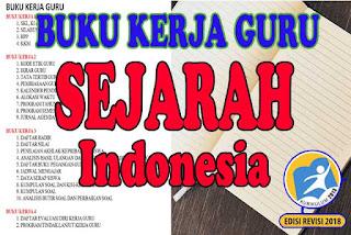 Buku Kerja Guru Sejarah Indonesia Kelas XII Tahun ini