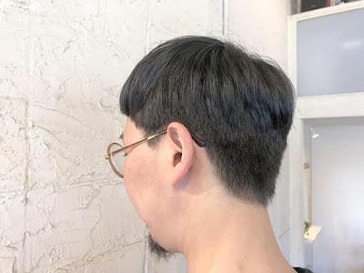 藤田嗣治のヘアスタイル