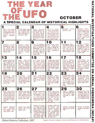 The Year of UFO (October)