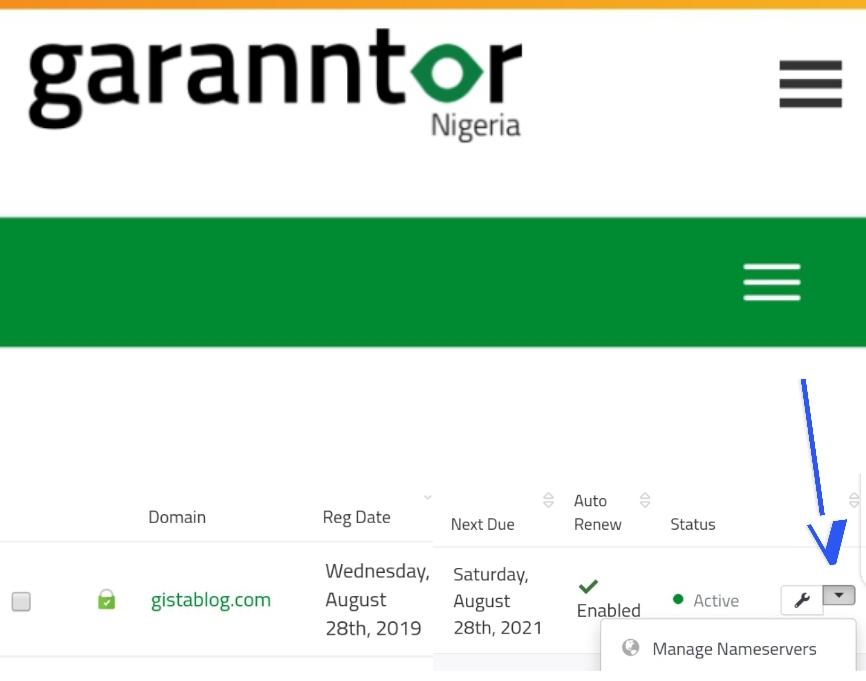 garrantor domain list