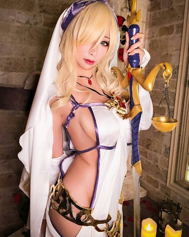 Hane Ame's Cosplay Best Girl Cute - Swordmaiden Goblin Slayer