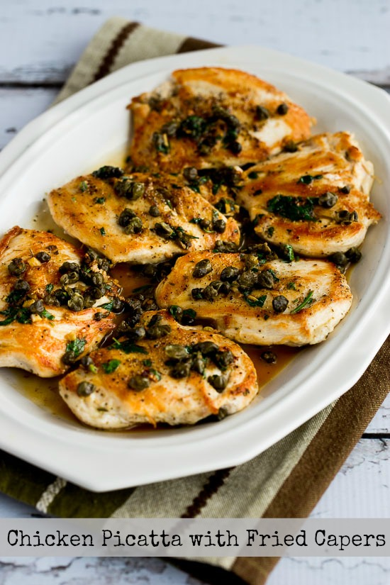 Chicken Piccata with Fried Capers - blogs de Recipes