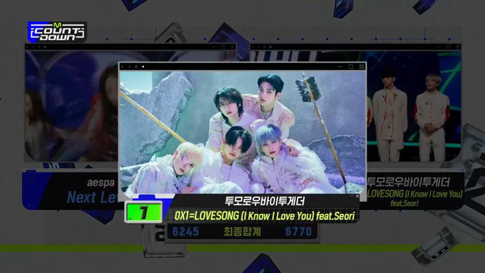 TXT Takes Home the 3rd Trophy With '0X1=LOVESONG (I Know I Love You)'