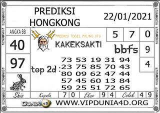 Prediksi Togel HONGKONG DUNIA4D 22 JANUARI 2021