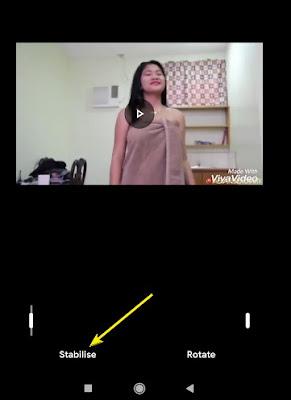 Cara membuat video stabil dan tidak goyang dengan hp