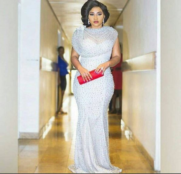 mercy aigbe dress at amvca 2016