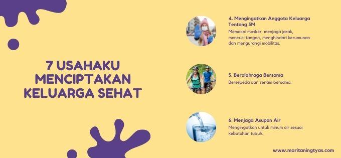 7 usaha agar keluarga sehat