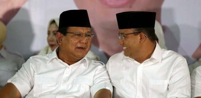 Peluang Anies Dampingi Prabowo Di Pilpres 2019 Terbuka Lebar