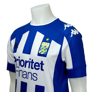 Camisa do IFK Gotemburgo.