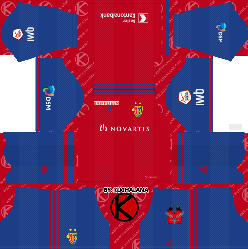 FC Basel 2019/2020 Kit - Dream League Soccer Kits
