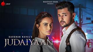 JUDAIYAAN (जुड़ाइयाँ Lyrics in Hindi) - Darshan Raval