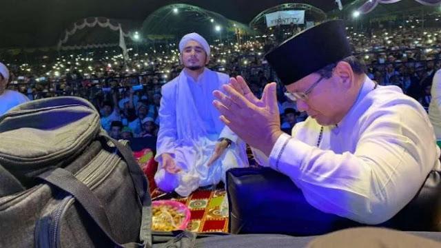 Teriakan Prabowo Menggema oleh Ribuan Warga Madura di Haul