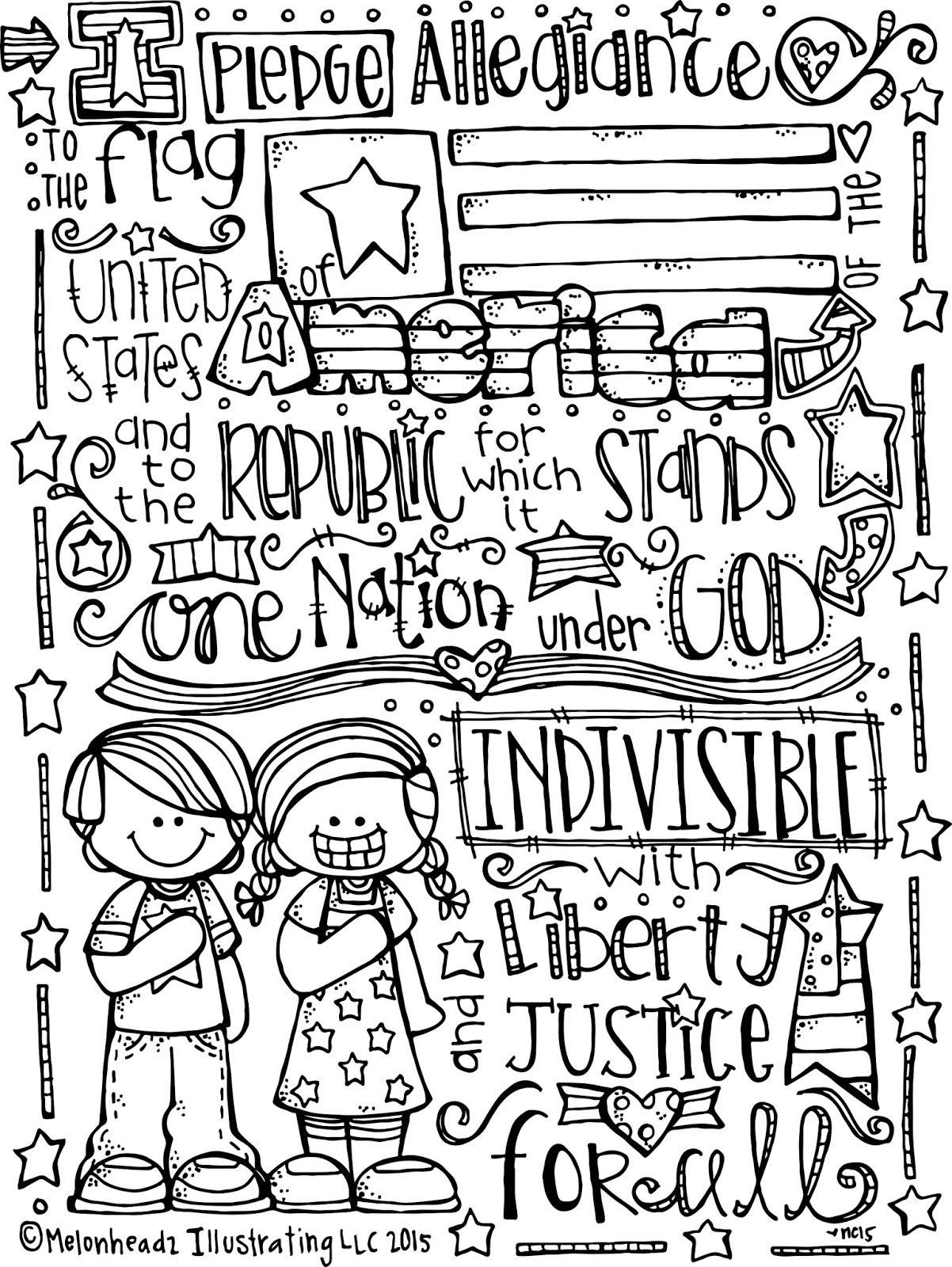 Happy birthday america coloring pages