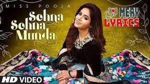 Sohna Sohna Munda Lyrics By Miss Pooja