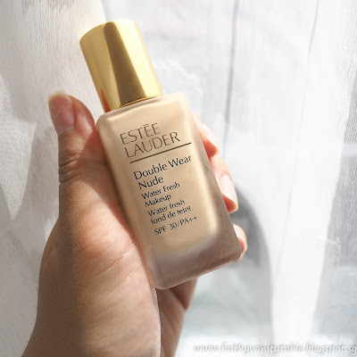 Estee Lauder Double Wear Nude Water Fresh Makeup Review Singapore