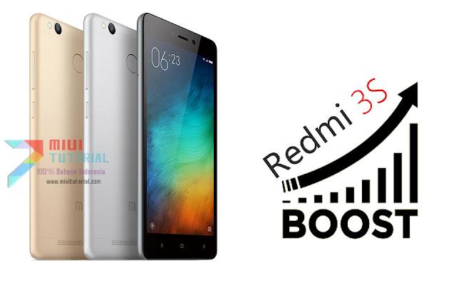Performa Meningkat + Ram Lega 400MB di Xioami Redmi 3s? Ini Tutorial Cara Pasang Tweak Script Boost nya