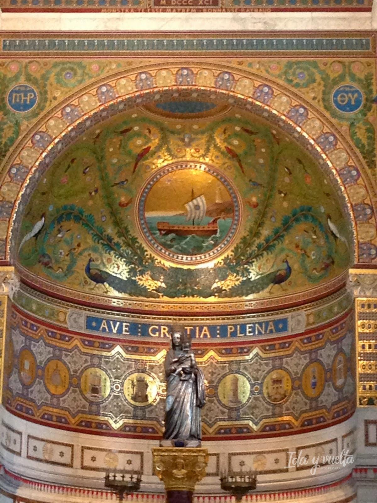 Mosaicos en Notre Dame de la Garde