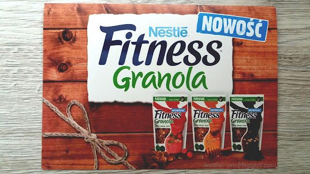 Nowość od Nestle Fitness - granola, czyli gotowa propozycja śniadania