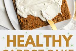 HEALTHY CARROT CAKE (GLUTEN-FREE & VEGAN)