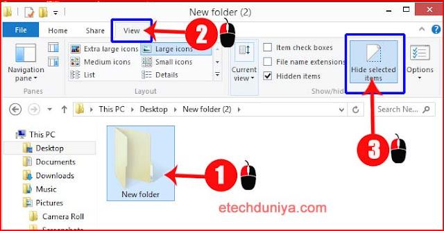 हाईड किया गया फोल्डर या फाइल को कैसे अनहाइड करें ? ( How to unhide  hidden folder or files )