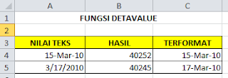 Fungsi DATEVALUE Pada Microsoft Excel, cara menggunakan detavalue pada microsoft excel, pengertian detavalue pada microsoft excel, panduan membuat detavalue pada microsoft excel, belajar microsoft excel
