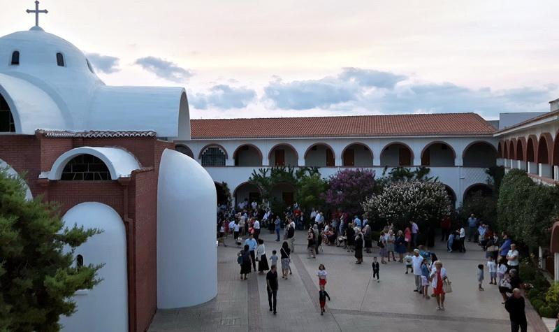 Πανηγυρικός εορτασμός στην Ιερά Μονή «Η Παναγία του Έβρου» στη Μάκρη Αλεξανδρούπολης