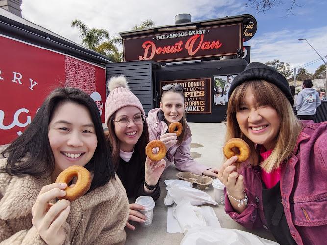 Famous Berry Donut Van Berry