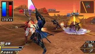 Download Sengoku Basara Battle Heroes PPSSPP