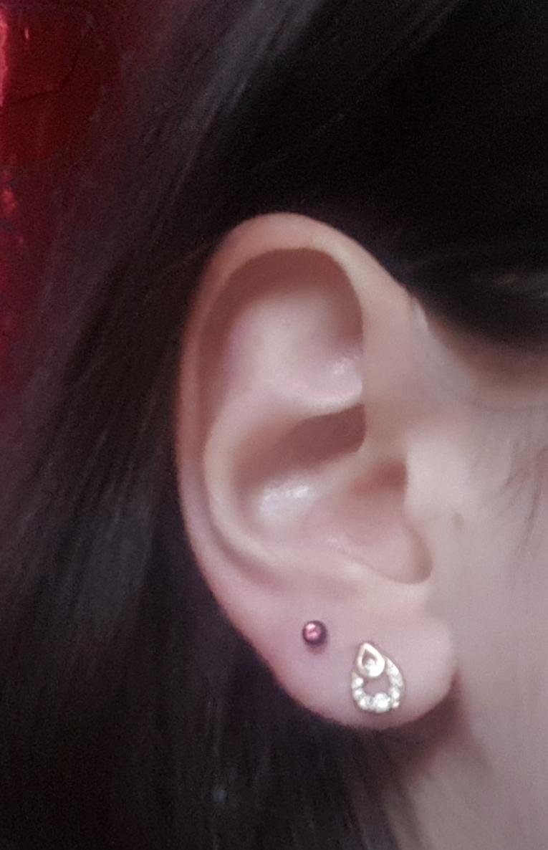 My Second Ear Piercing My Second Ear Piercing